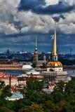 Première vue de St Petersburg Photos libres de droits
