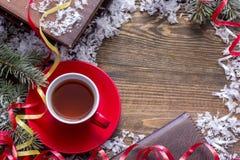 première vue de thé photographie stock libre de droits