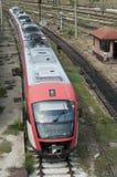 Première vue de train photo stock