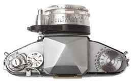 Première vue de vieil appareil-photo Photographie stock