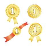 Premi dell'oro Immagine Stock