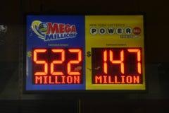 Premi di lotteria fotografie stock libere da diritti