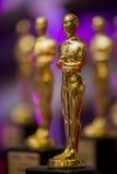 Premi dorati eleganti Fotografia Stock Libera da Diritti