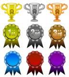 Premi e nastri Fotografia Stock
