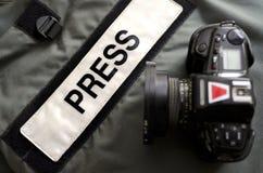 Premi lo studio dell'attrezzo fotografie stock