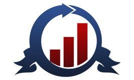 Premier  Center Solution. Logo Design Template Vector Stock Image