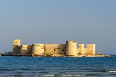 Premier château du ` s, Kiz Kalesi dans Mersin Turquie photos stock