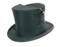 Premier chapeau noir cassé par cru image libre de droits