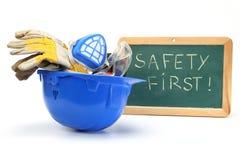 Premier concept de sécurité photo stock