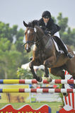 Premier Cup Equestrian Show Jumping Royalty Free Stock Photo