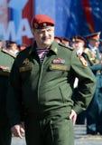 Premier député Director du service fédéral des troupes de garde nationale de la Fédération de Russie, Sergei Melikov Colonel-géné Images libres de droits