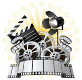 Premier de película ilustração royalty free