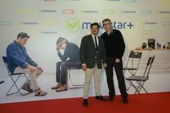 A premier do filme espanhol quem era Jorge Sanz? no Madri foto de stock royalty free