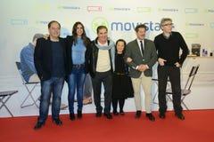 A premier do filme espanhol quem era Jorge Sanz? no Madri fotografia de stock