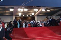 Premier em festivais do DES de Palais Fotografia de Stock Royalty Free