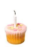 Premier gâteau d'anniversaire Images libres de droits