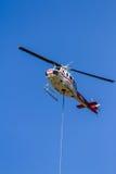 Premier hélicoptère du feu de réponse Photographie stock