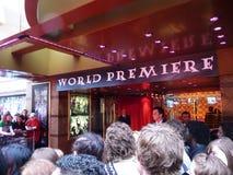 Premier il 7 luglio 2009 del Harry Potter Immagini Stock