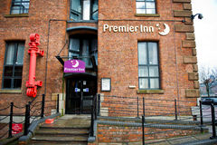 Premier Inn Hotel in Liverpool Stock Images