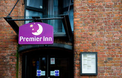 Premier Inn Hotel in Liverpool Royalty Free Stock Photography