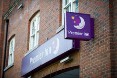 Premier Inn Hotel in London, UK Stock Images