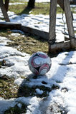 Premier but du football de saisons Images stock