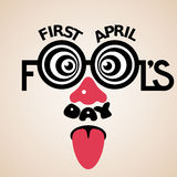 Premier jour d'April Fools Photographie stock