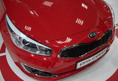Premier of KIA Pro-Ceed GT at the Belgrade Motor Show Stock Images