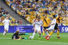 Premier League ucraina: Dinamo Kyiv contro Oleksandria Fotografia Stock Libera da Diritti