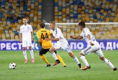 Premier League ucraina: Dinamo Kyiv contro Oleksandria Immagine Stock Libera da Diritti