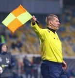 Premier League ucraina: Dinamo Kyiv v Olimpik in Kyiv immagine stock libera da diritti