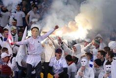 Premier League ucraina: Dinamo Kyiv v Shakhtar immagine stock