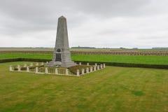 Premier mémorial australien de Division Photographie stock libre de droits
