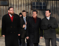 Premier ministre britannique David Cameron Photos libres de droits