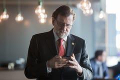 Premier ministre de l'Espagne Mariano Rajoy Image libre de droits