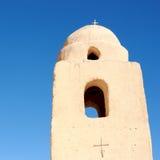 Premier monastère chrétien, Egypte (IV siècle). image stock