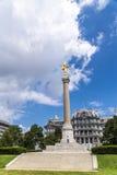 Premier monument de Division Photos libres de droits