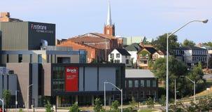 premier Ontario centre d'arts du spectacle de 4K UltraHD, St Catharines, Canada banque de vidéos