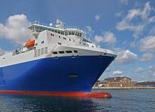 Premier paquet d'un bateau Image libre de droits