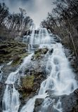 Premier ressort aux automnes d'Amicalola Photo stock