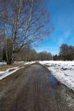 Premier ressort dans Kadriorg tallinn l'Estonie l'europe Images stock