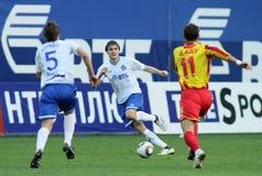 Premier russo League di gioco del calcio Immagini Stock Libere da Diritti