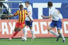 Premier russo League di gioco del calcio Fotografia Stock