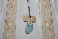 Premier sacrement catholique de communion Image stock