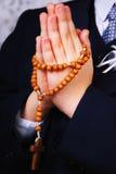 Premier saint communion-amen Photo libre de droits