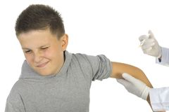 premier vaccin image stock