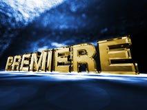 Premiere Stock Image