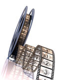 Premiere countdown!. Film strip countdown. Cinema. Premiere Royalty Free Stock Photo