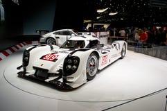 Premiere Genf 2014 Porsches 919 Stockbild