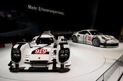 Premiere Genf 2014 Porsches 919 Lizenzfreie Stockfotos